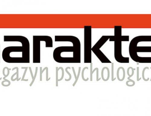 W majowych Charakterach Bartosz Szymczyk o diagnozie psychologicznej